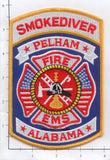 Alabama - Pelham Fire EMS Patch