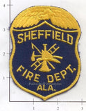 Alabama - Sheffield Fire Dept Patch