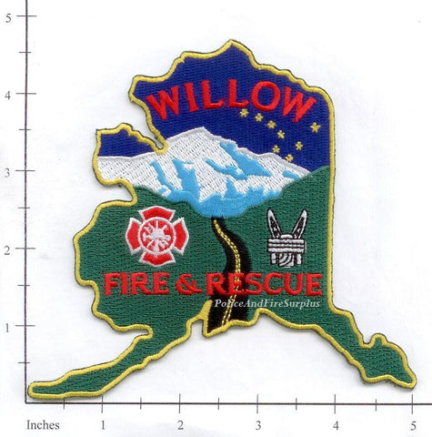 Alaska - Willow Fire & Rescue Fire Dept Patch v2