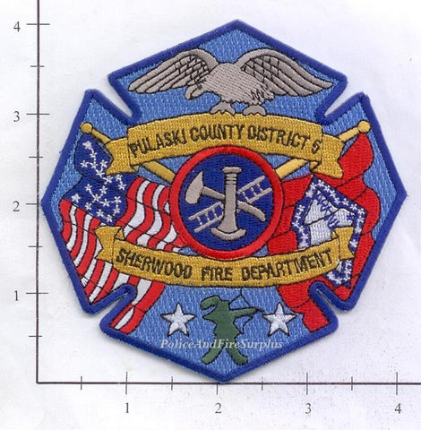 Arkansas - Pulaski County District 5 - Sherwood Fire Dept Patch
