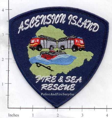 Ascension Island Fire & Sea Rescue Dept Patch