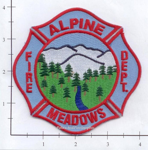 California - Alpine Meadows Fire Dept Patch
