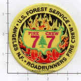 California - Angeles National Forest Fire Crew 77 Dept Patch