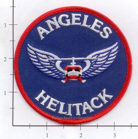 California - Angeles National Forest Fire Helitack Fire Dept Patch