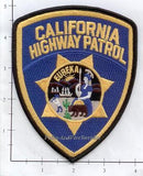 California - California Highway Patrol Police Patch v1