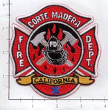 California - Corte Madera Fire Dept Patch