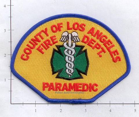California - Los Angeles County Paramedic Fire Dept Patch