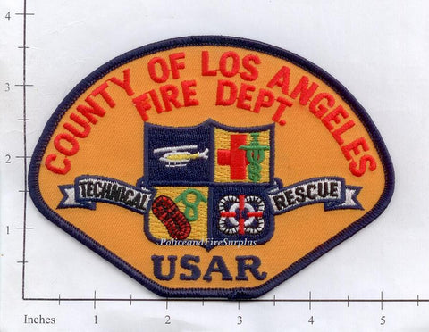 California - Los Angeles County USAR Fire Dept Patch
