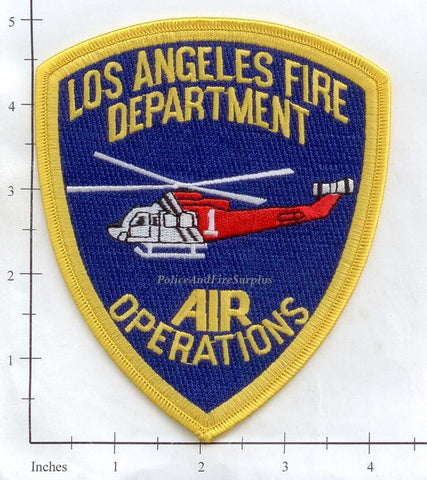 California - Los Angeles Fire Dept Air Operations Fire Patch