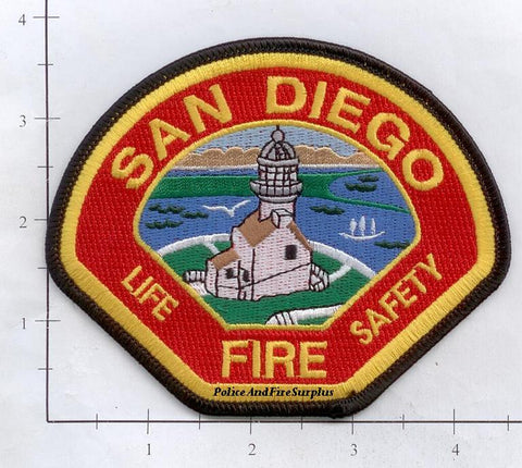California - San Diego Fire Dept Patch