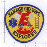 California - San Jose Explorer Fire Dept Patch
