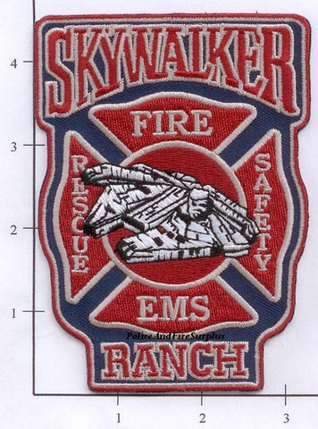 California - Skywalker Ranch Fire Dept Patch v1