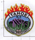 California - Tahoe National Forest R-5 Fire Patch