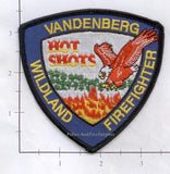 California - Vandenberg Hot-Shots Wildland Fire Dept Patch v2