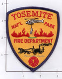California - Yosemite National Forest Fire Patch