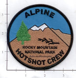 Colorado - Alpine Hotshot Crew Fire Dept Patch