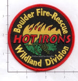 Colorado - Boulder Fire Rescue Wildland Division Fire Dept Patch