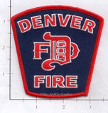 Colorado - Denver  Fire Dept Patch