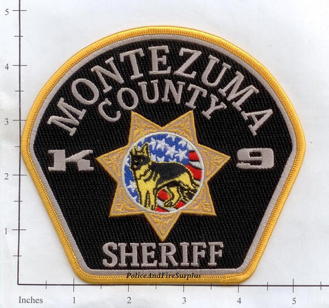 Colorado - Montezuma County Police K-9 Patch