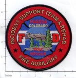 Colorado - Pagosa Fire Rescue Incident Support Team Fire Dept Patch