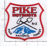Colorado - Pike National Forest Hotshots Fire Dept Patch