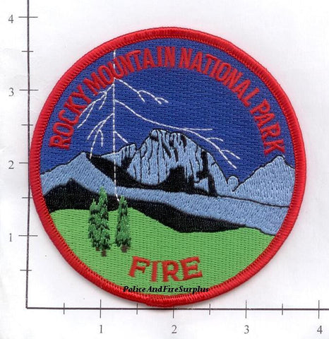 Colorado - Rocky Mountain National Park Fire Dept Patch