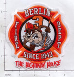 Connecticut - Berlin Station 3 Fire Dept Patch