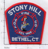 Connecticut - Bethel - Stony Hill Voluntary Fire Company Fire Dept Patch