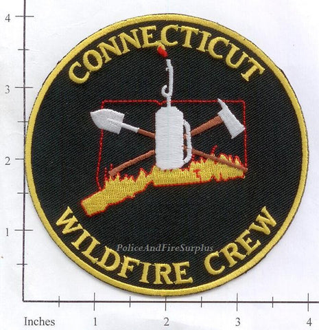 Connecticut - Connecticut Wildfire Crew Fire Patch