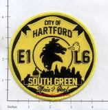 Connecticut - Hartford Engine  1 Ladder 6 Fire Dept Patch v2