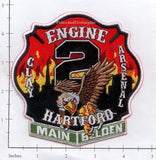 Connecticut - Hartford Engine  2 Fire Dept Patch v1