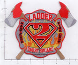 Connecticut - Hartford Ladder  2 Fire Dept Patch