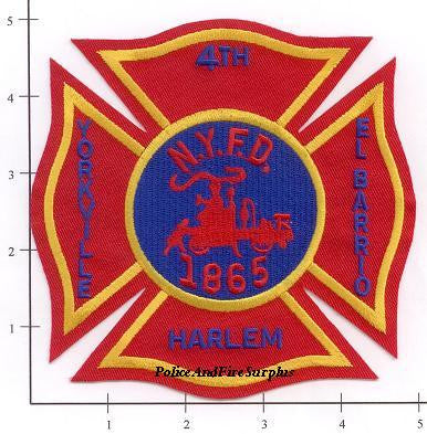 New York City Division  4 Fire Patch v1