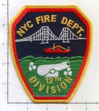 New York City Division 12 Fire Patch v3