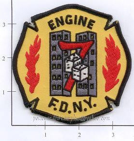 New York City Engine   7 Fire Patch v2