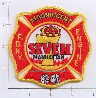 New York City Engine   7 Fire Patch v4