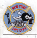 New York City Engine   8 Fire Patch v5 Blue Maltese