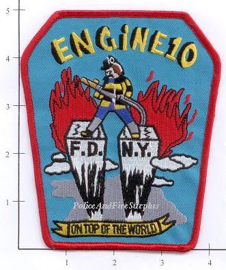 New York City Engine  10 Fire Dept Patch v3