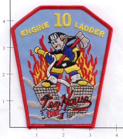New York City Engine  10 Ladder 10 Fire Patch v12