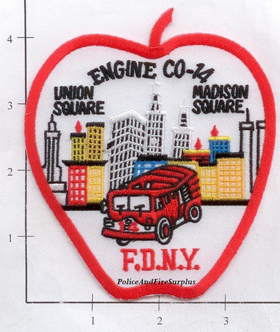 New York City Engine  14 Fire Patch v2