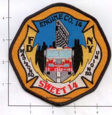 New York City Engine  14 Fire Patch v3