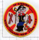 New York City Engine  18 Fire Patch v11 Popeye