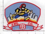 New York City Engine  22 Fire Patch v5
