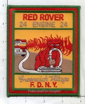 New York City Engine  24 Fire Patch v7