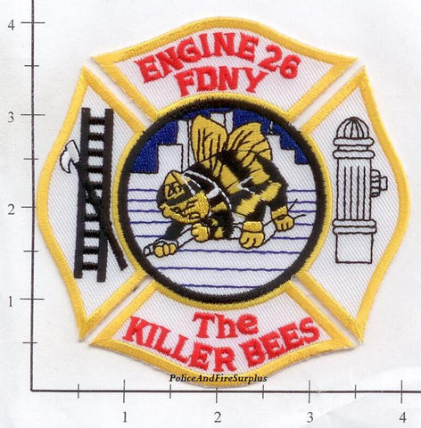 New York City Engine  26 Fire Patch v7