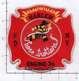 New York City Engine  36 Fire Patch v3