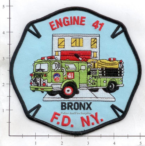 New York City Engine  41 Fire Patch v20 Red Rims
