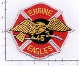 New York City Engine  45 Fire Patch v2