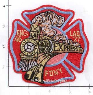 New York City Engine  46 Ladder 27 Fire Patch v5