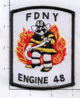 New York City Engine  48 Fire Patch v3